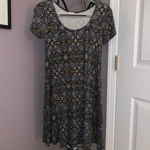 GARAGE printed t-shirt dress